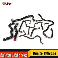 R EP Hose Turbo Silicone Radiatore Intake tube Kit fits For 2016 2017 2018 Honda Civic 10 LX EX Si Sport 1.5T 16PCS Auto parts