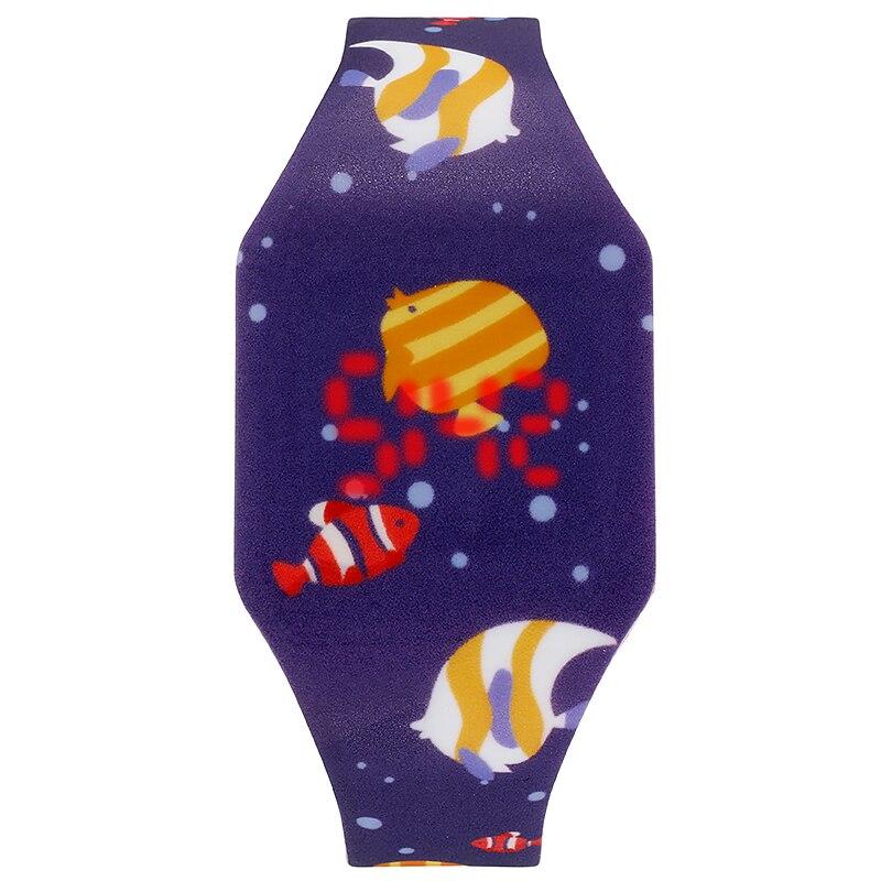 Подарок для ребенка мультфильм цифровой часы космонавт космос космос галактика океан синий море художественный дизайн мода леди часы круто