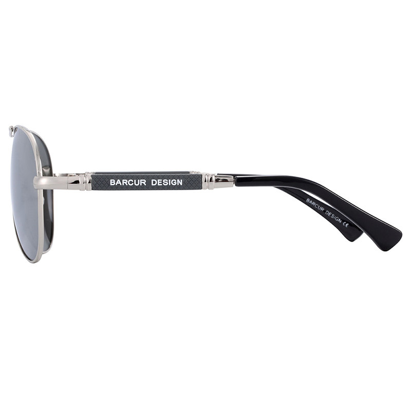 H421f4c0294c84f038c4f220f1b578df5q BARCUR TR90 Sunglasses Polarized Men's Sun glasses Women Pilot UV400 Mirror Oculos de sol