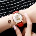 HAIQIN 2019 новые женские механические часы для женщин Роскошные автоматические часы для женщин модные простые женские часы relogio feminino