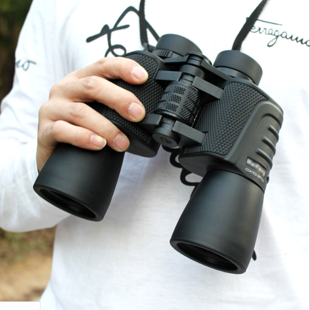 High power telescope night day vision military binoculars zoom optical spyglass for tourism sniper hunting rifle spotting scope