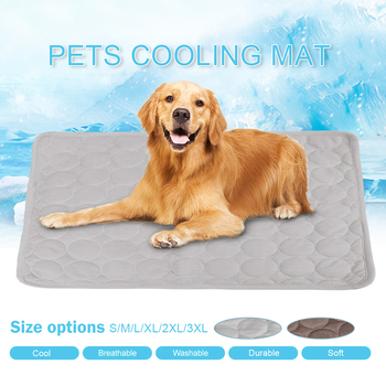 Summer Cooling Dog Bed Mat Multifunction Waterproof Car Seat Cover Pad Pet Sleeping Cushion Dogs House Mats image