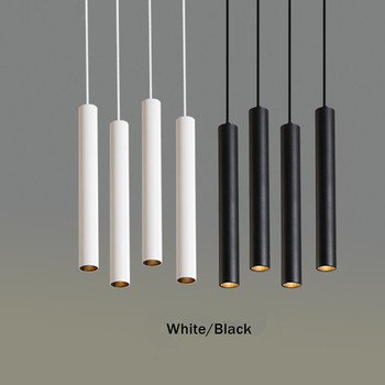 Simple led Pendant Light Long Tube lamp Modern Kitchen Lamp Dining Room Bar Counter Shop hang lamp Cylinder Pipe Pendant Lights цена 2017