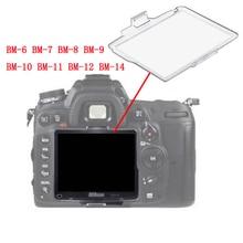 10 pçs/lote BM 6 BM 7 BM 8 BM 9 BM 10 BM 11 BM 12 BM 14 Filme Tela Do Monitor LCD de Plástico Rígido Capa Protector