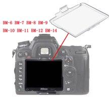 10 teile/los BM 6 BM 7 BM 8 BM 9 BM 10 BM 11 BM 12 BM 14 Hartplastik Film LCD Monitor Bildschirm Abdeckung Schutz