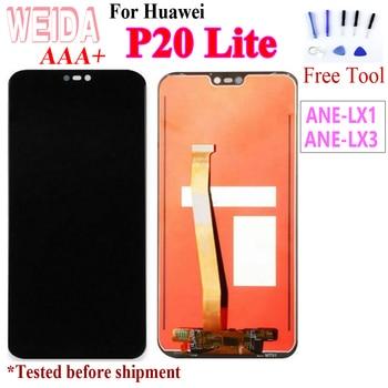 Original 5.842280*1080 LCD for HUAWEI P20 Lite LCD Display Touch Screen Assembly for HUAWEI P20 Lite ANE-LX1 ANE-LX3 Nova 3e for huawei p20 lite ane lx1 ane lx3 lcd display touch screen digitizer assembly replacement for p20lite nova 3e 5 84 screen par