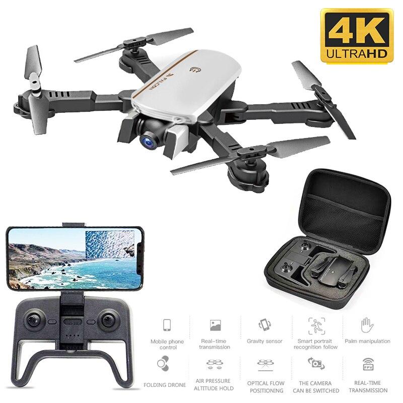 SMRC 1808 RC quadrirotor Drones HD double caméra 1080P Transmission WIFI FPV flux optique pliant Mini 4K Drone avion jouets VS R8