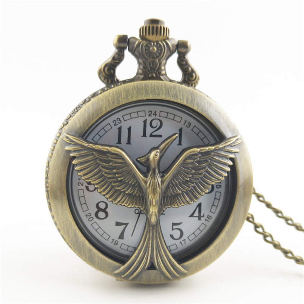 Vintage Classic Owl Series Charm Quartz Pocket Watch Unisex Fashion Men Women Necklace Pendant Watches Chain Best Family Gifts