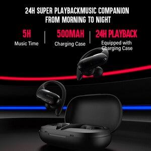 Image 3 - DACOM G05 TWS Bluetooth écouteur vrai sans fil casque sport en cours dexécution écouteurs oreille crochet stéréo écouteurs pour iPhone Samsung