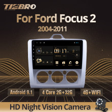 TIEBRO 2din Android 9,0 Radio del coche reproductor de Dvd para Ford Focus EXI MT 2 3 Mk2 2004, 2005, 2006, 2007-2011 2Din GPS reproductor Multimedia(China)