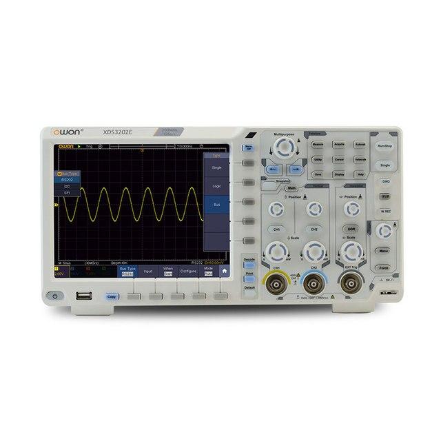 8 XDS3202E デジタル · ストレージ · オシロスコープポータブル 2 チャンネル 200 mhz の帯域幅 8 インチ usb オシロスコープキット
