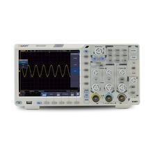 Owon xds3202e osciloscópio de armazenamento digital portátil 2 canais 200 mhz largura de banda 8 Polegada usb osciloscópios kits