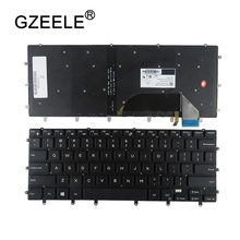 цена на New US Keyboard FOR DELL XPS 15 9550 9560 laptop keyboard Backlight