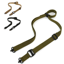 Tactical Rope Mission Adjustable Two 2 Points Rifle Gun Sling QD Trap Outdoor Paintball Hunting Nylon Belt Airsoft Gun Rope