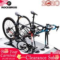 ROCKBROS Bike Roof Rack Bike Bicycle Rack Suction Roof Top Bike Car Racks Carrier MTB Mountain Road Bike Accessory