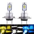 2pcs H7 H4 H11 H8 LED Car Headlight Bulb Beam Kit 12V 80W High Power Car Fog Light 3000K 6000K Auto Headlight Bulbs 12000LM 3570