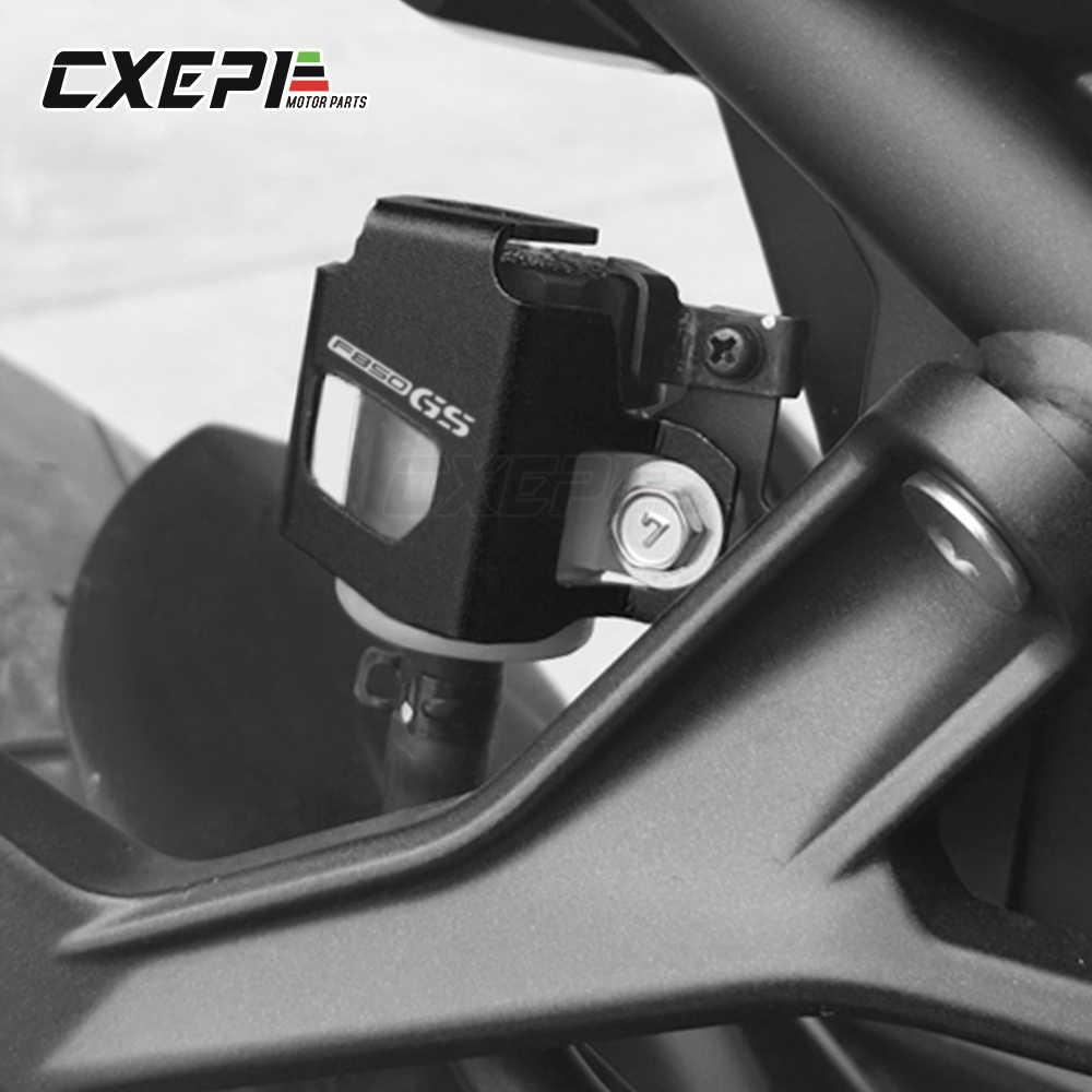 Aluminium Bremse Hinten Flüssigkeit Reservoir Schutz Protector Für BMW F900R F750GS F850GS F750 F850 GS 2018-2019 2020