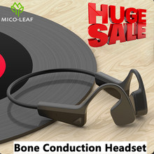 HUGE SALE Bone Conduction Headphones Bluetooth 5.0 Wireless Sports Earphones IP56 Headsets Stereo Hands-Free With Microphone