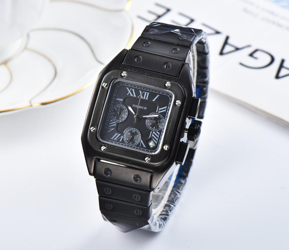 Men's Fashion Multi-functional Six-pin Quartz Watch, High-quality High-quality Stainless Steel Strap. AaaWatch