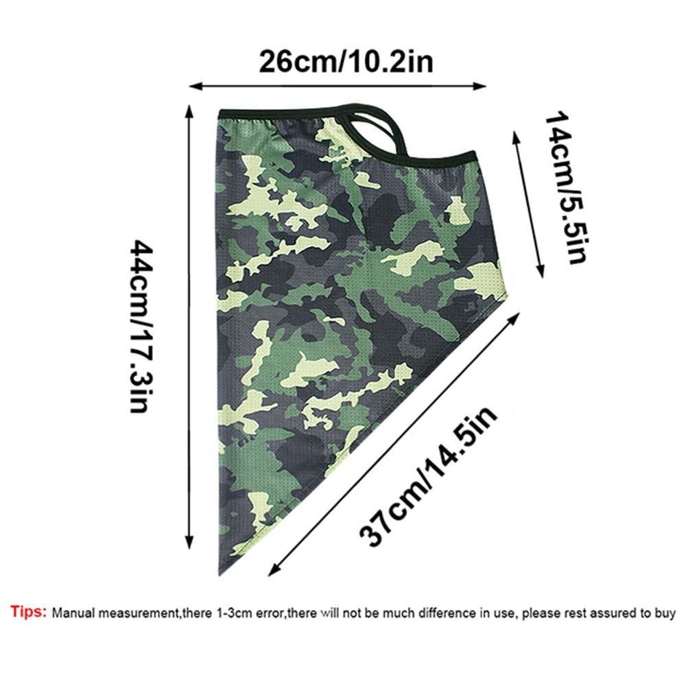 Eșarfă triunghi de mătase în aer liber bandana pentru ciclism - Camping și drumeții - Fotografie 4