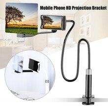 Nowy telefon komórkowy wysokiej rozdzielczości uchwyt projekcyjny regulowany elastyczny wszystkie kąty uchwyt na Tablet telefon DOM668