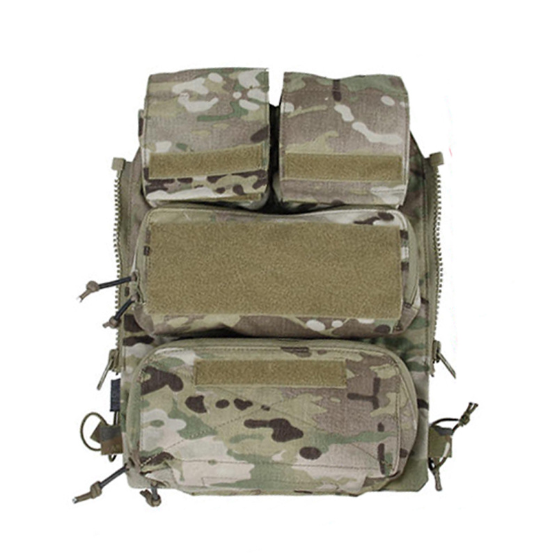 TMC Tactical Vest Zipper Pouch Bags Multicam Limited Edition For Tactical Vest 16-19 AVS JPC2.0 CPC Free Shipping