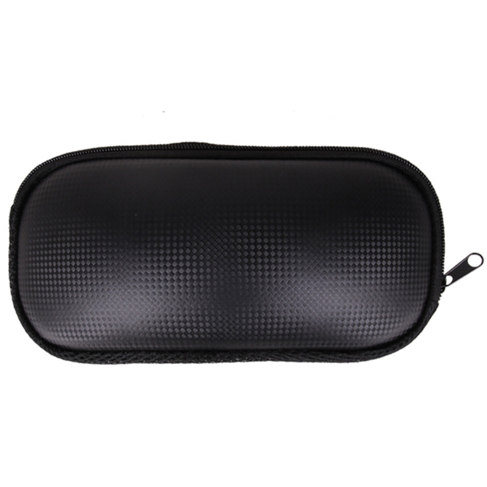 Shockproof Hard PU Leather Ski Glasses Case Winter Solid Portable Lightweight Storage Box Protection Zipper Snowboard Safe