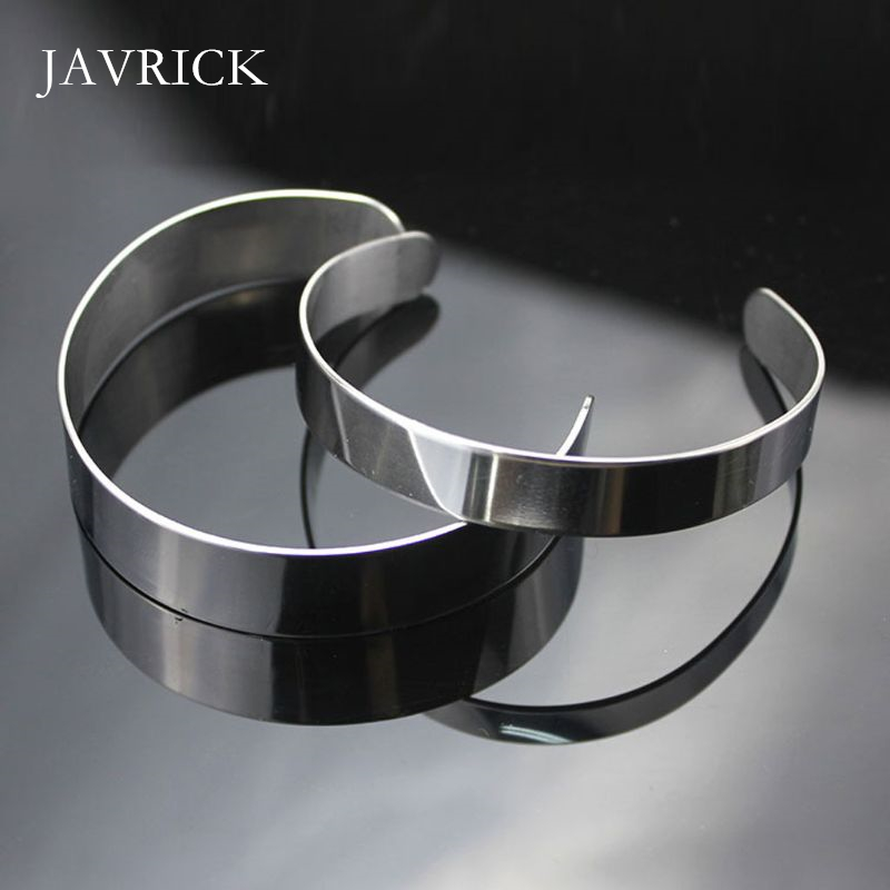 10Pcs Titanium Blank Stamping Bracelet DIY Leather Cuff Bangles Craft Tool DIY Bangles Accessories Jewelry Making Tool