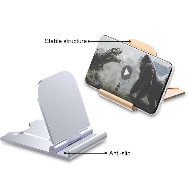 Paresseux Mobile support de téléphone bureau moderne Style Punk universel support de Table pliant téléphone accessoires support de bureau pour xiaomi TXTB1
