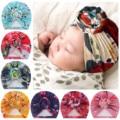 Для маленьких детей; Повязка на голову для маленьких мальчиков и девочек цветочный завязанный шляпу шапка головной убор аксессуары для нов...