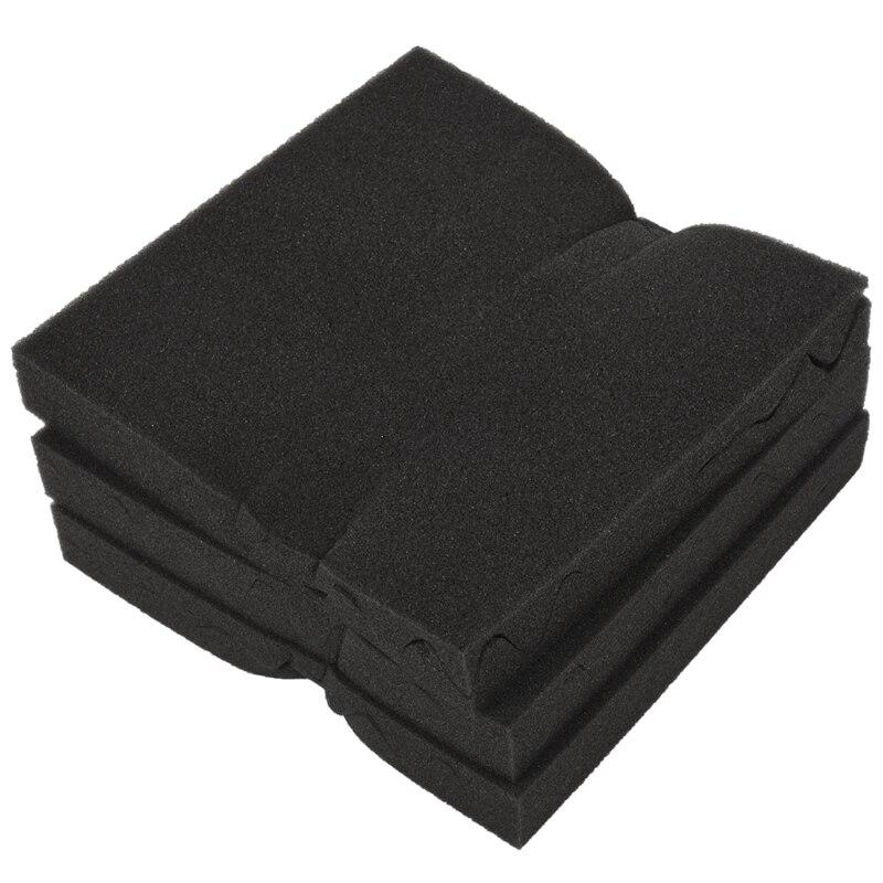 6pcs 30X30X4CM Soundproofing Acoustic Foam Tiles Noise Sound-Absorbing