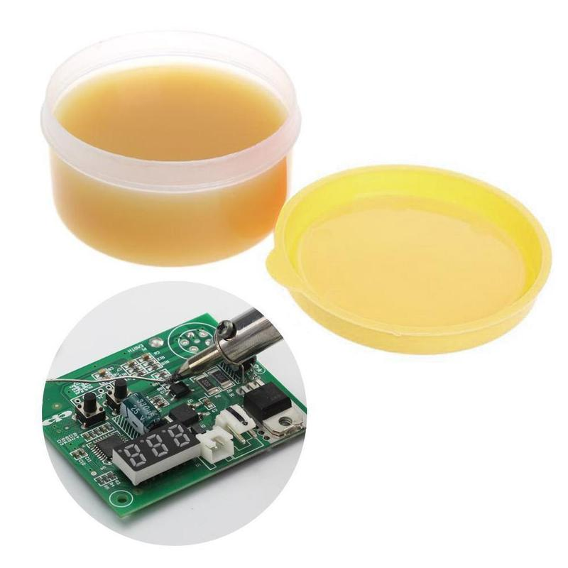 150g Rosin Soldering Flux Paste Solder Welding Grease PH7+0.3/ 7-0.3 For  Mobile Phone, PC Card BGA Precision Electronic Chip