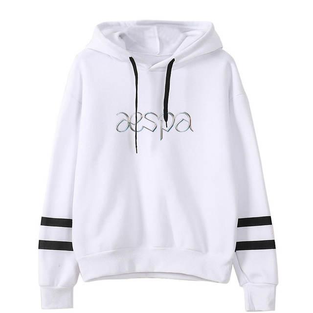 AESPA THEMED STRIPED HOODIE (15 VARIAN)