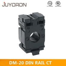 Transformador atual DM-20/af do trilho do ruído-20 preto 30a 50a 75a 100a 150a 200a 250a ct da montagem do trilho do ruído para o quadro de distribuição