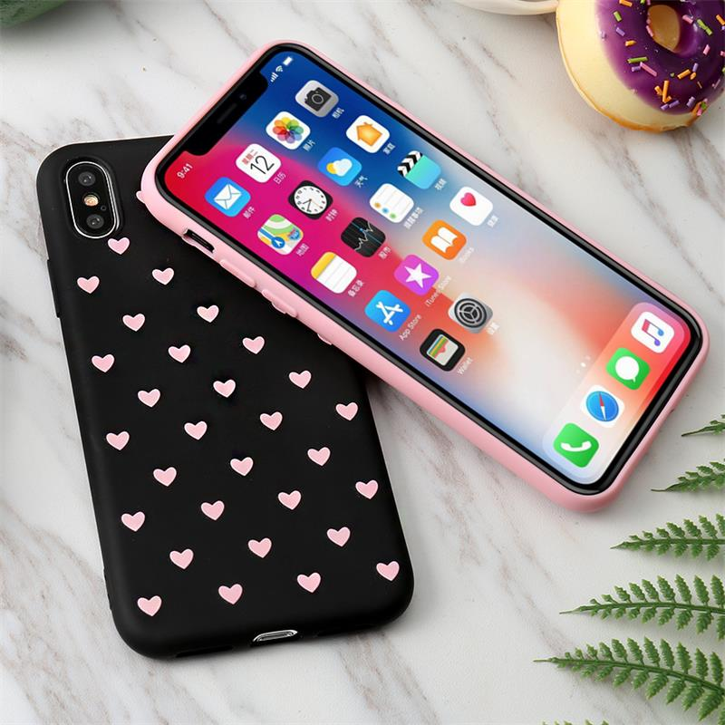 Image 4 - KISSCASE Fashion Love Heart Case For Huawei P20 P10 Lite Pro Mate 20 10 P Smart Hard PC Phone Cases For Honor 9 10 Lite 8X Cover