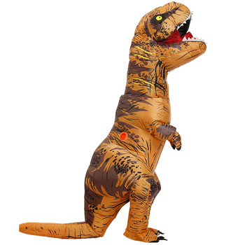 Adult Kids Inflatable Dinosaur Costume T REX women Men Costumes dinosaur Alien Halloween Party Fancy Dress suit Carnival Cosplay 1