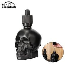 30ml 60ml 120ml Scrub skull bitter bottle of medicine dropper Liquor Pourer Bar Tool  Bartender Decanter Cocktail Barware
