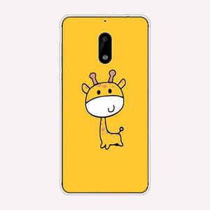 Чехол для телефона Nokia 6 2017 TA-1021 силиконовый чехол Полная защита ТПУ чехол для Nokia 6 nokia6 задний бампер Coque Case