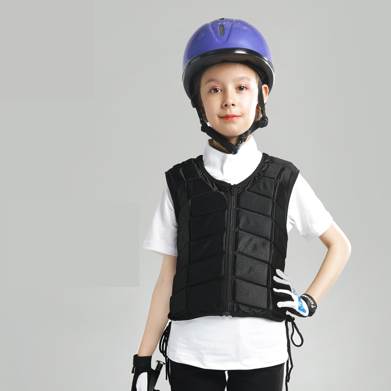 Kids Outdoor Safety Horse Riding Equestrian Vest Flexible Body Protective Gear Horse Equipment Breathable 1