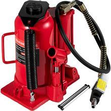 Cric hydraulique à Air 20 tonnes, vérin à bouteille rouge, pour réparation de camion automatique, levage pneumatique, camion