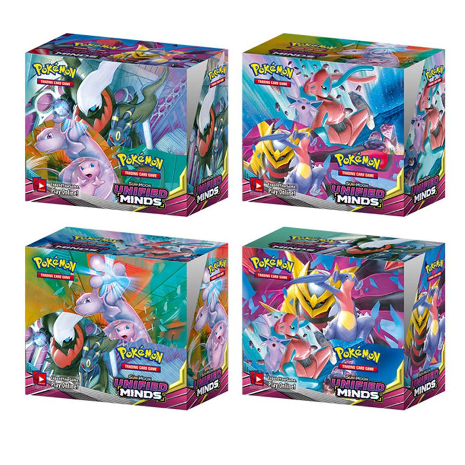 324pcs Pokemon Cards TCG: Sun & Moon Lost Thunder Booster Box Collectible Trading Card Game Kids Toys Gift