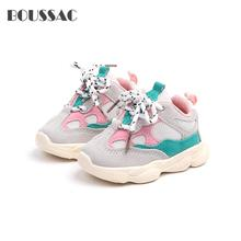 BOUSSAC Baby shoes Kids Girls Boys Shoes Causal Sneakers Breathable toddler fashion outdoor