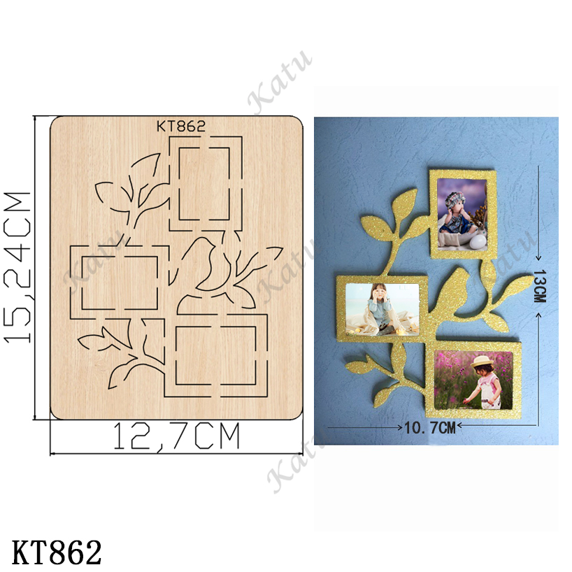 Art Photo Frame Cutting Dies 2019 New Die Cut &wooden Dies Suitable  For Common Die Cutting  Machines On The Market