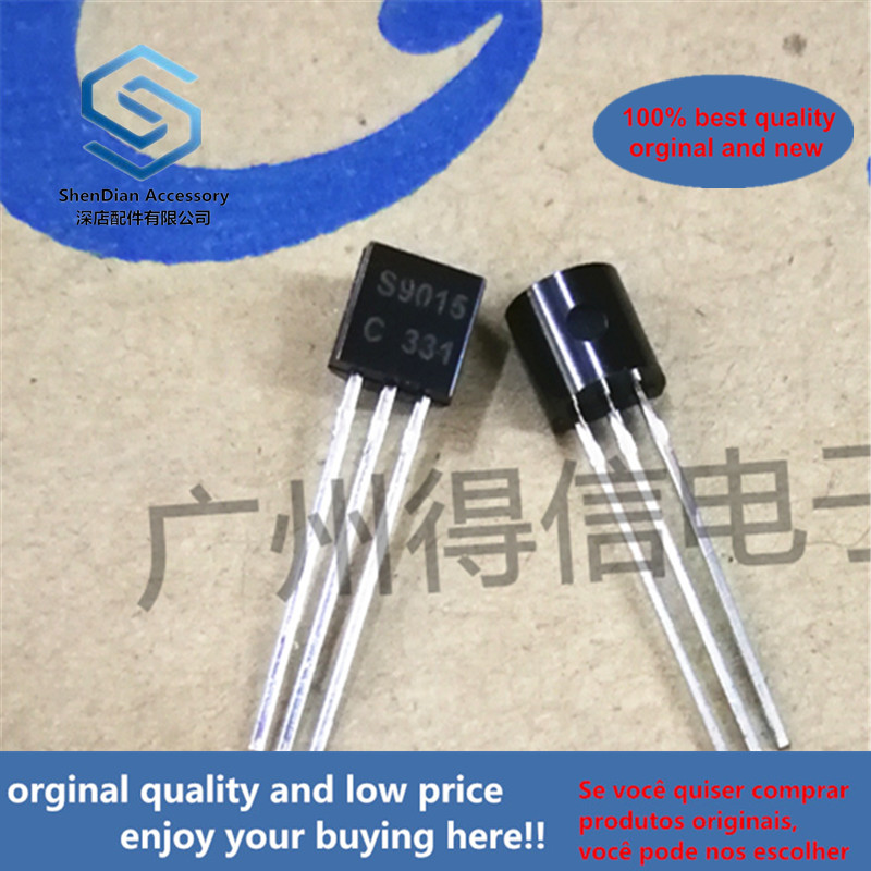 50pcs 100% Orginal New S9015C S9015 TO-92 Real Photo