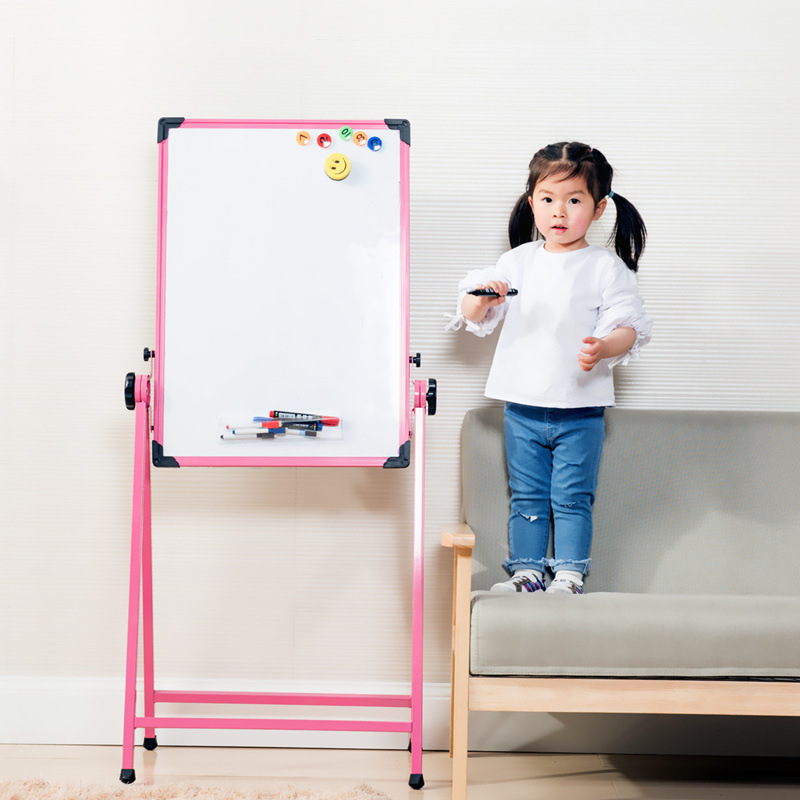 CHILDREN'S Drawing Board Alloy Easel Magnetic Drawing Board Braced Adjustable Blackboard Baby Graffiti Whiteboard ~ Special Suit