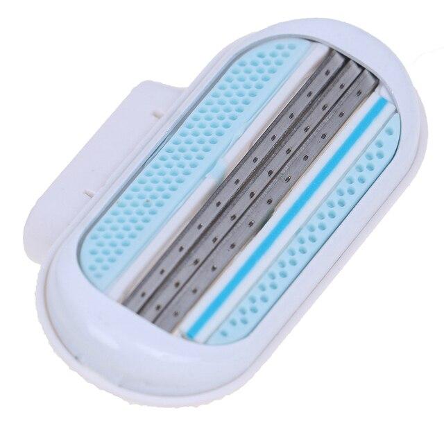 Rasoir 3 couches pour lames de rasage rasoir de sécurité livraison rapide tête de remplacement dépilation pour outil de beauté GileVen épilateur