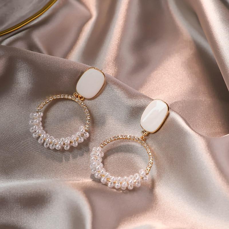 European And American Five-pointed Star Earrings Korean Earrings