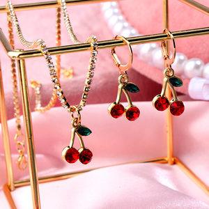 Cender Fashion Cherry Fruit Je