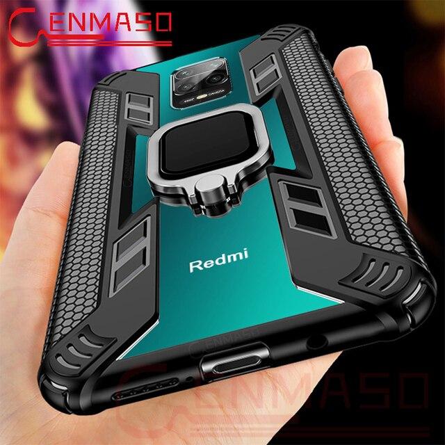 Per la Nota Redmi 9S 8 Pro Caso per Caso Xiaomi Redmi Nota 7 8T K20 K30 Magnetica Supporto per Auto per il caso di Xiaomi Mi Nota 10 PRo 9T 8 A3 Lite 2