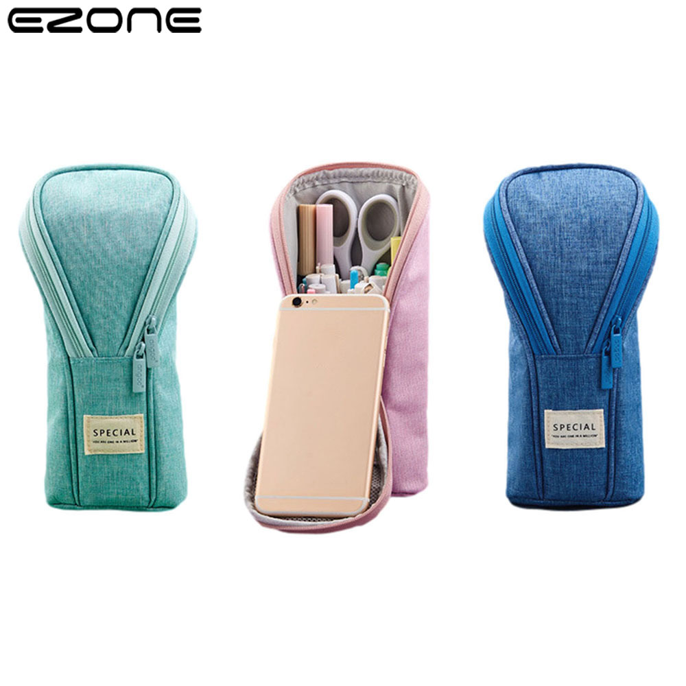 EZONE Pencil Case 3D Multifunctional Pen Holder With Large Capacity Student Stationery Children's Birthday Gifts 26*14cm